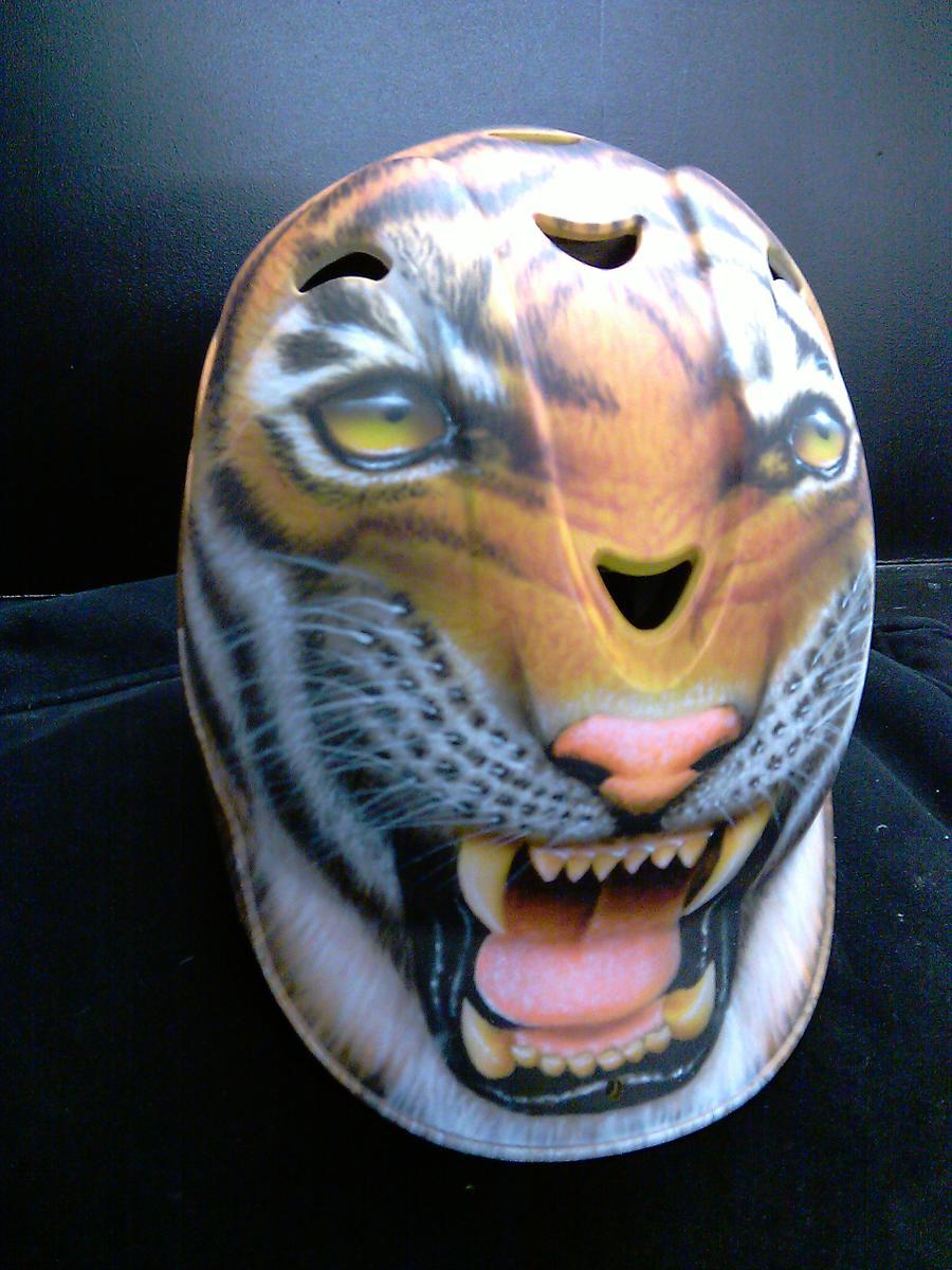 Tiger Base Ball Helmet