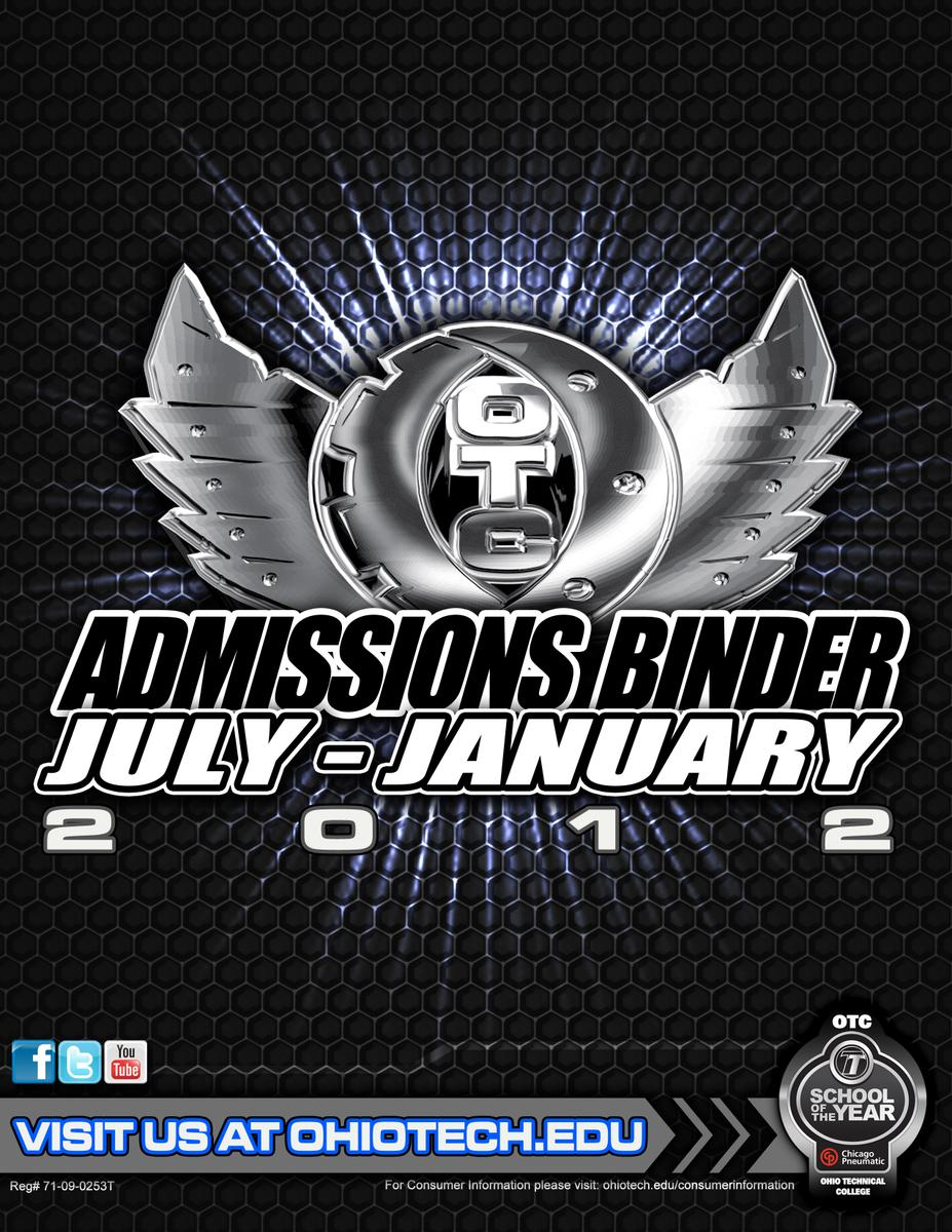 OTC Admissions Cover