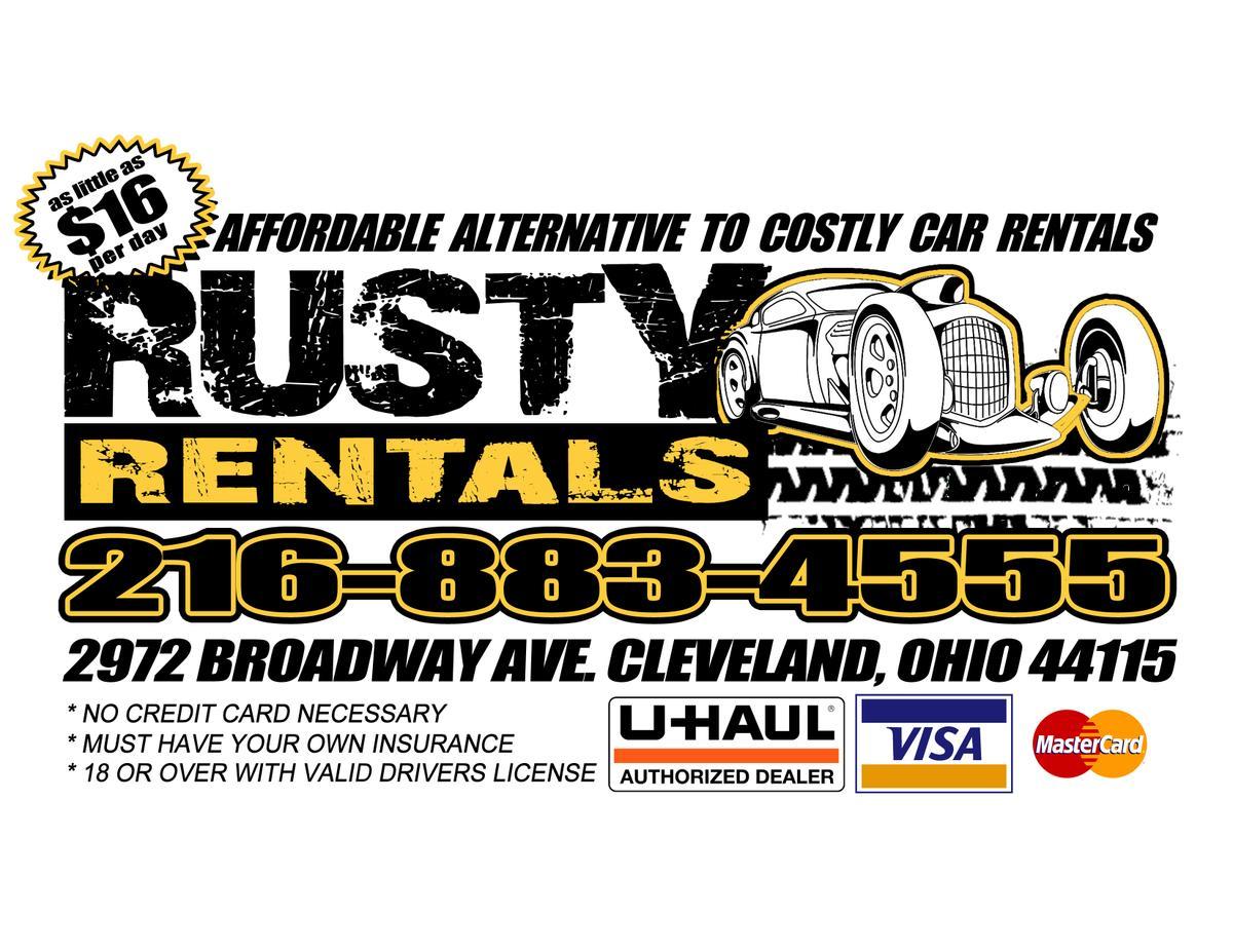 Rusty Rentals Ad